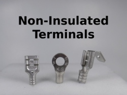 Non Insulated terminals