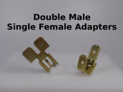 Double Male Single Female Adapters