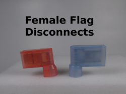 Female Flag Disconnects