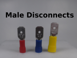 Male Disconnects